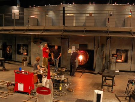 Hot Shop at the Museum of Glass, Tacoma